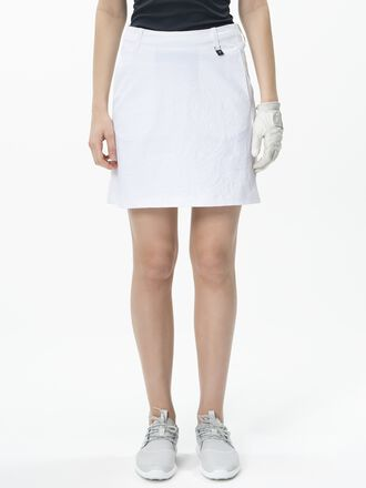 Women's Golf Swinley Skirt White | Peak Performance