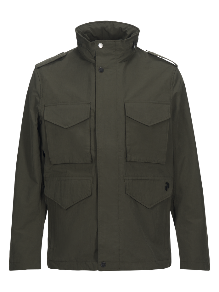 Herren Hunt Jacke Terrain Green | Peak Performance