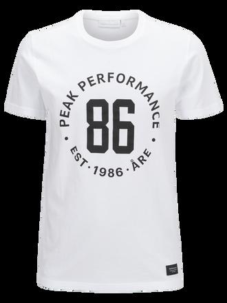 Supima t-shirt för herrar White | Peak Performance