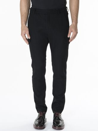 Men's Aaron Cargo Chinos Black | Peak Performance