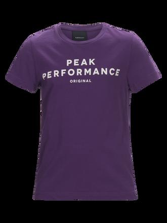 Logo kortärmad t-shirt för barn Raf Blum | Peak Performance