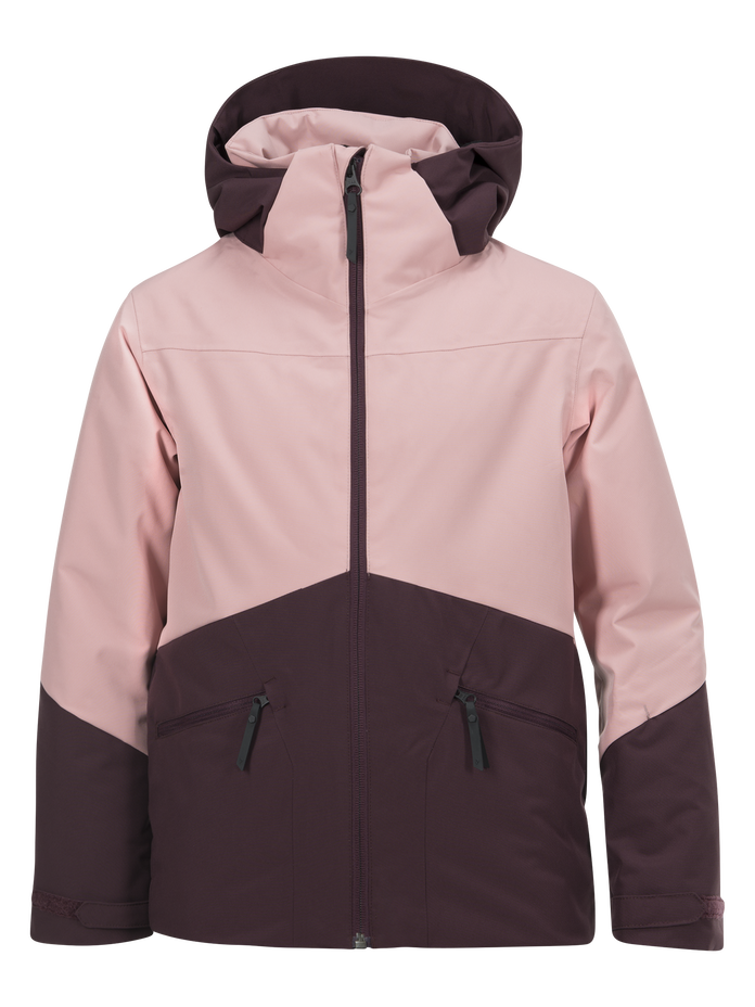 Kids Greyhawk Ski Jacket Dusty Roses | Peak Performance