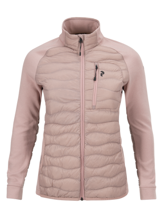 Women's Heli Hybrid Jacket Dusty Roses | Peak Performance