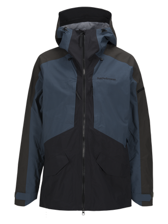 Herren Teton Skijacke Blue Steel | Peak Performance