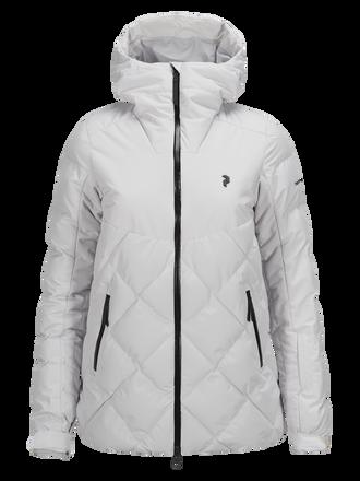 Women's Alaska Ski Jacket Dk Offwhite | Peak Performance