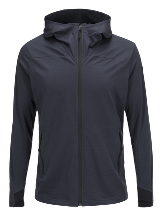 Men's Civil Hooded Mid Jacket Iron Cast | Peak Performance