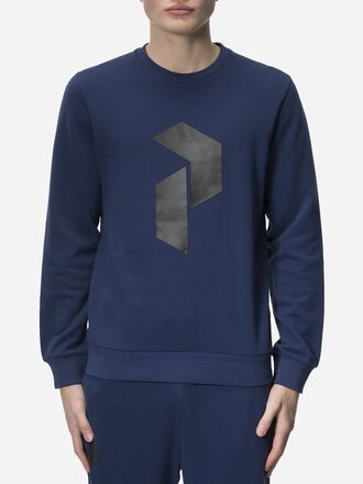 Men's Zero Crew neck Thermal Blue | Peak Performance