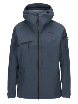 Blouson de ski homme Alpine Blue Steel | Peak Performance