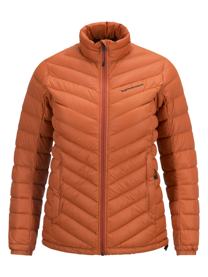 Women's Frost Down Liner Jacket Blaze Orange | Peak Performance