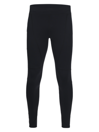 Men's Block Printed Running Tights Black | Peak Performance