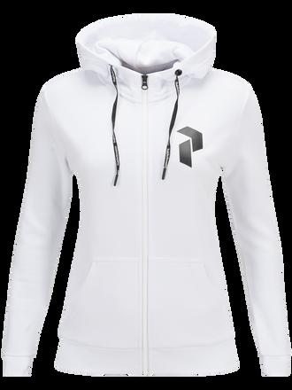Women's Zero Zipped Hooded Sweater