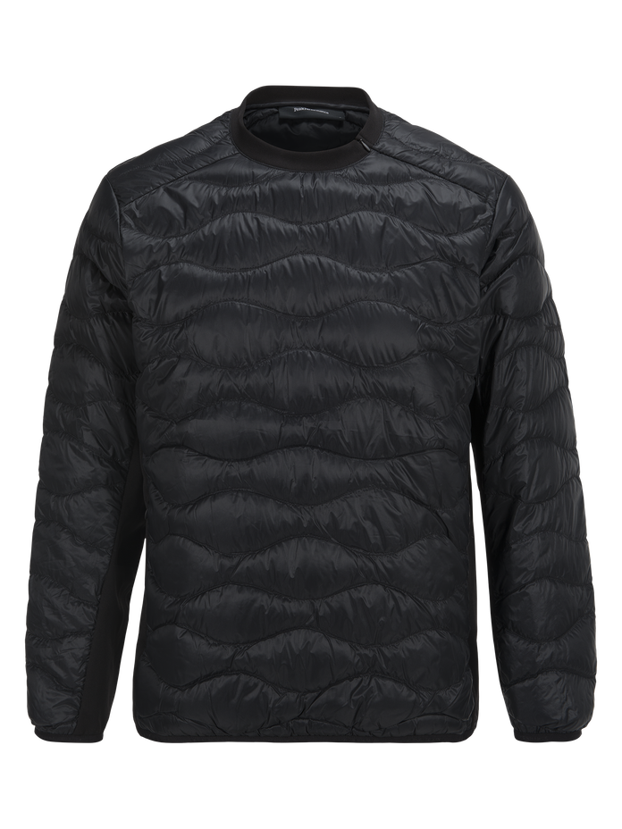 Men's Helium Hybrid Liner Sweater Black | Peak Performance