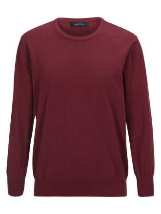 James Crew neck Dusty Wine | Peak Performance