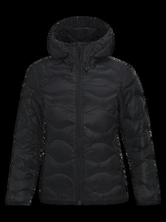 Women's Helium Hooded Jacket Black | Peak Performance