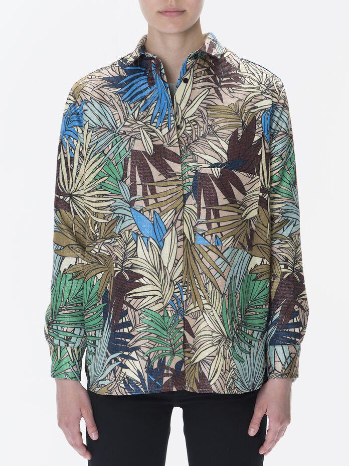 Damen Leaf Hemd