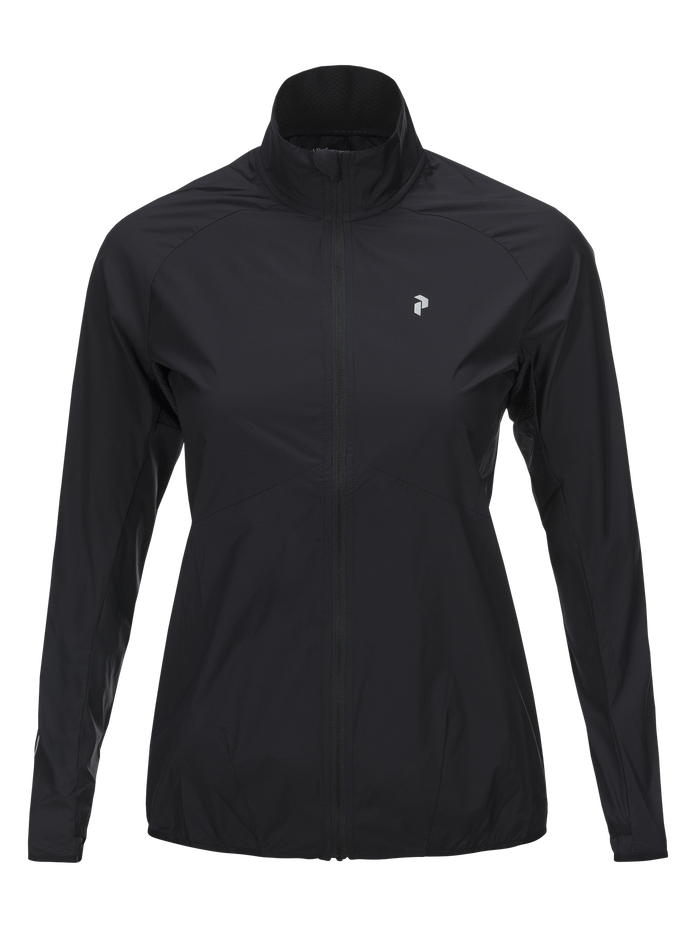 Women's Accelerate Jacket Black | Peak Performance