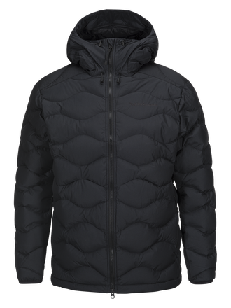 Herren Winter Helium Mit Kapuze Jacke Black | Peak Performance