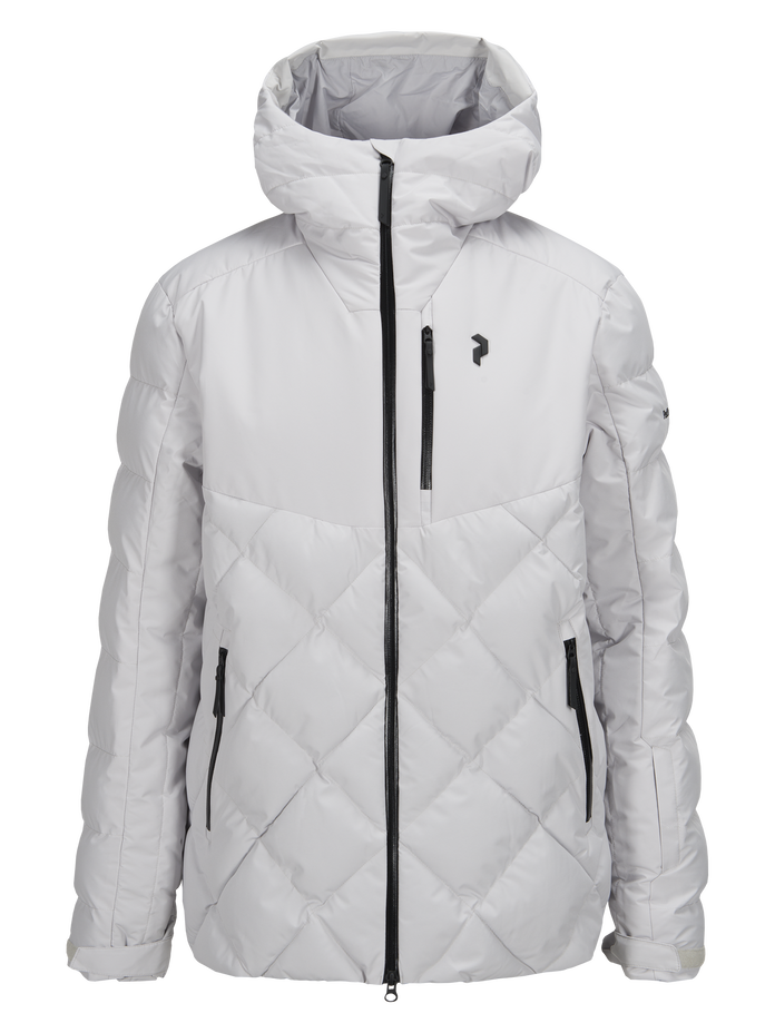 Men's Alaska Ski Jacket Dk Offwhite | Peak Performance