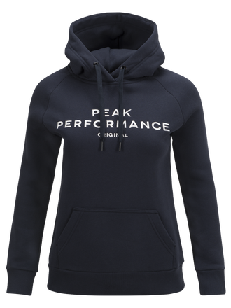 Damen Logo Hoodie Salute Blue | Peak Performance