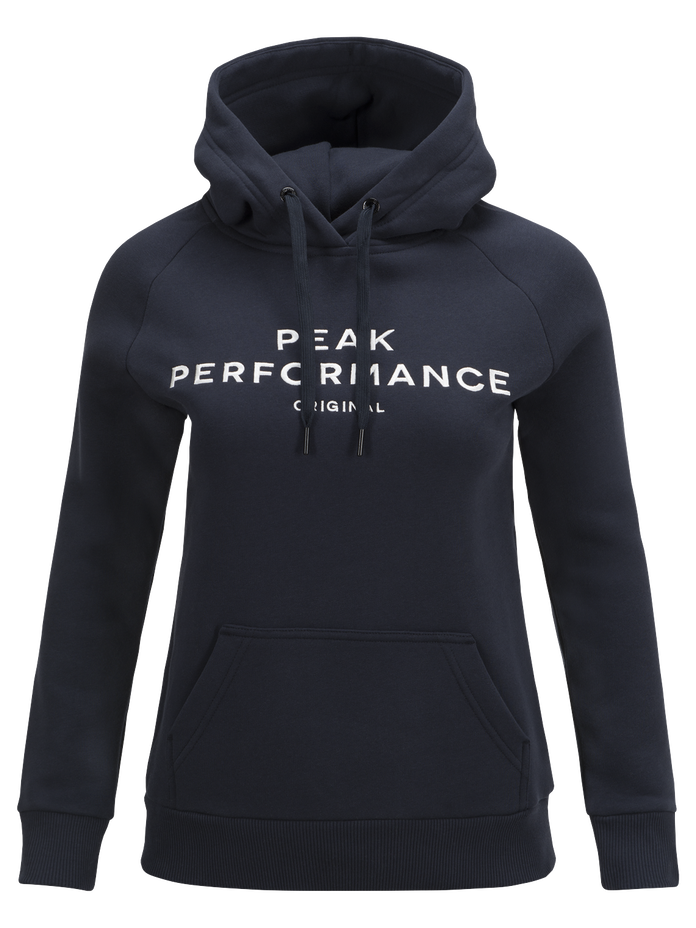 Sweat à capuche femme Logo Salute Blue | Peak Performance