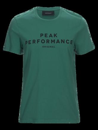 Men's Logo T-shirt Shady Green | Peak Performance