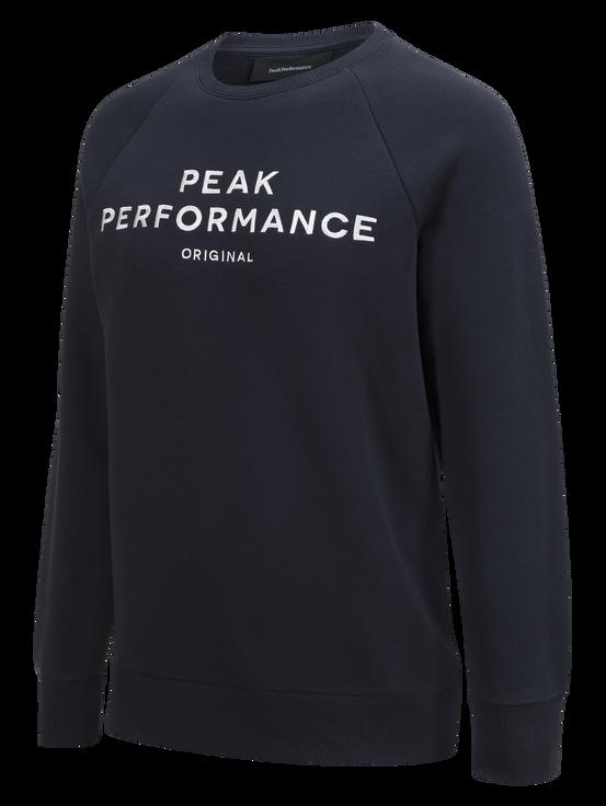 Logo herrtröja med rund halsringning Salute Blue | Peak Performance
