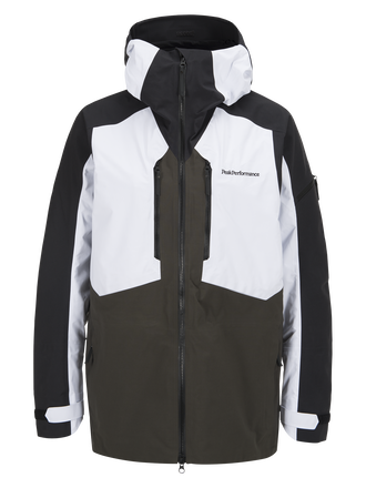 Men's Granite Ski Jacket White | Peak Performance