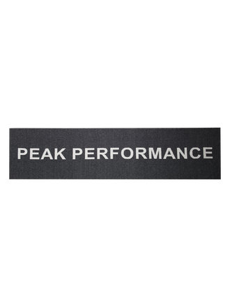Logo scarf Black | Peak Performance