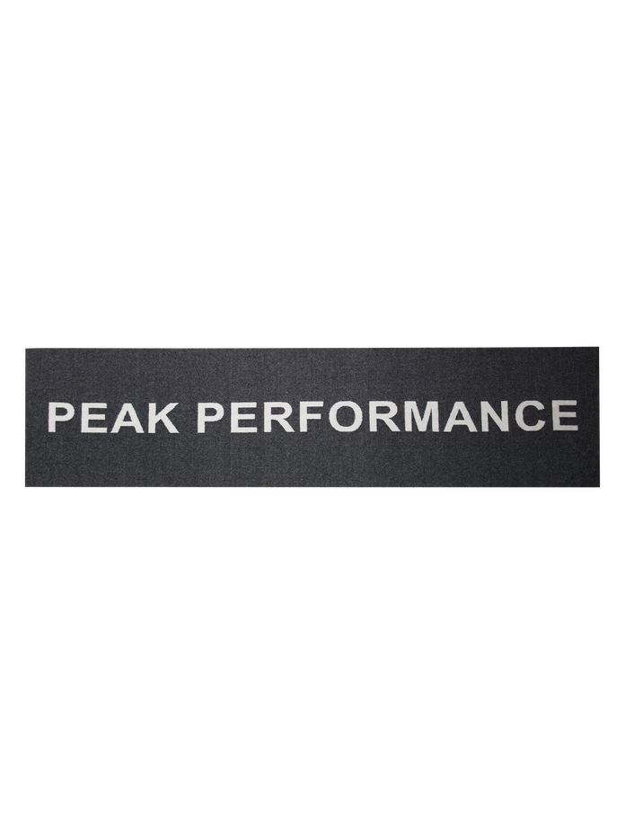 Logo scarf Black | Peak Performance