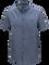 Luke kortärmad skjorta för herrar Dark Slate Blue | Peak Performance
