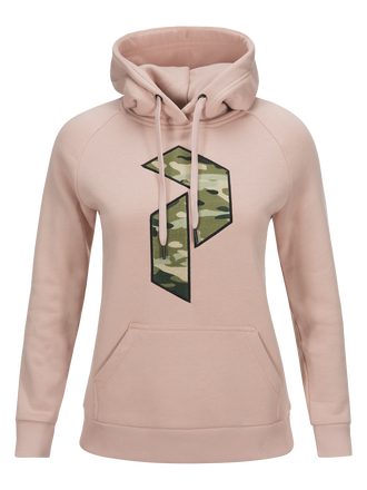 Damen Art Hoodie Softer Pink | Peak Performance