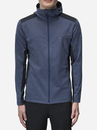 Veste intermédiaire zippée à capuche homme Ace Thermal Blue | Peak Performance