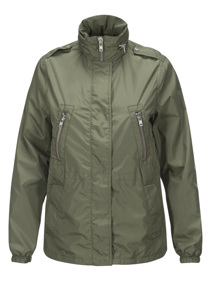 Damen Hunt Jacke Leaflet green | Peak Performance