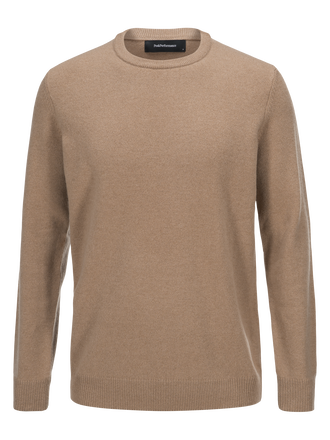 Men's York Crew neck True Beige | Peak Performance