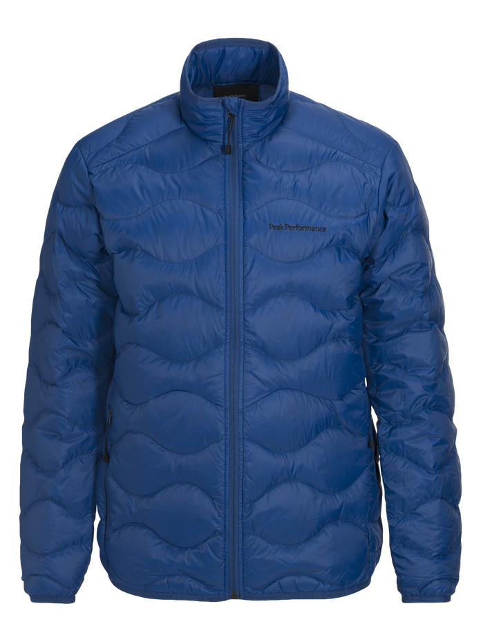 Men's Helium Jacket True Blue | Peak Performance