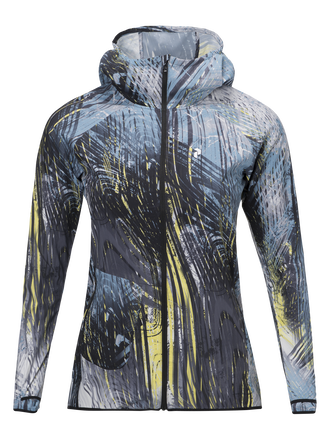 Damen Fremont Running Polyester Windjacke PATTERN | Peak Performance
