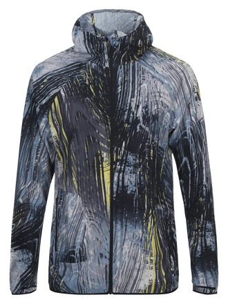 Herren Fremont Running Polyester Windjacke PATTERN | Peak Performance