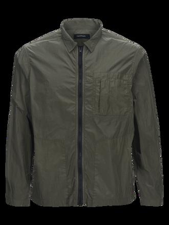 Men's Work Nylon Shirt Jacket Leaflet green | Peak Performance