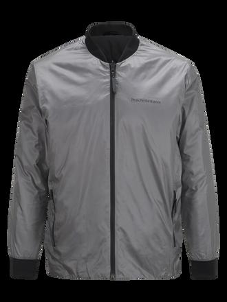 Men's Lombard Liner Jacket Quiet Grey | Peak Performance