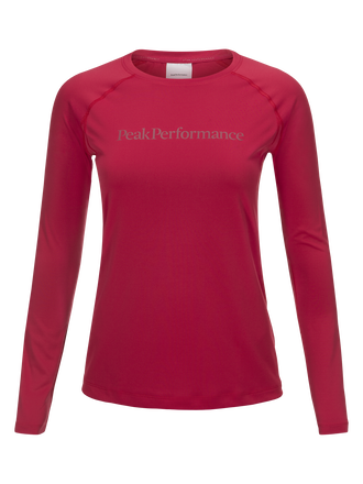 Damen Gallos Co2 Langärmlig Top True Pink | Peak Performance