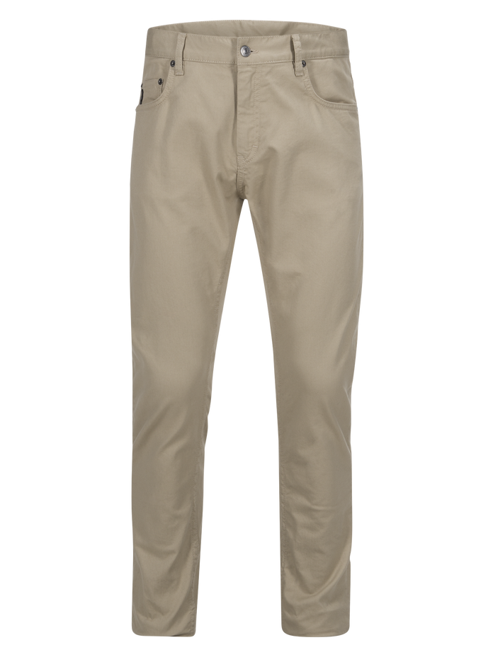 Men's Bob Twill Pants Slow Beige | Peak Performance
