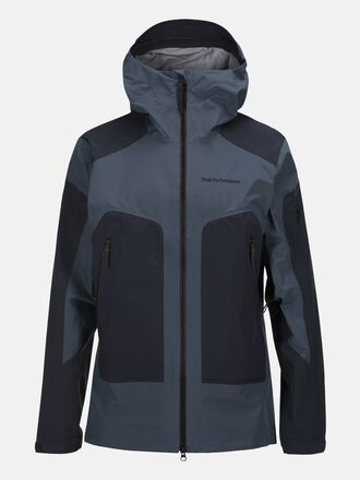 Herren Core 3-lagige Skijacke Blue Steel | Peak Performance