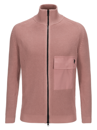 Pull zippé homme Curtis Softer Pink | Peak Performance