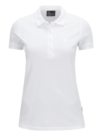 Women's Golf Piqué White | Peak Performance
