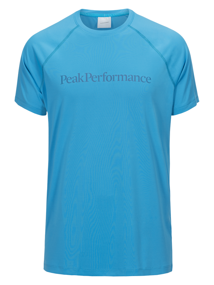 T-shirt à manches courtes homme Gallos Co2 Active Blue | Peak Performance