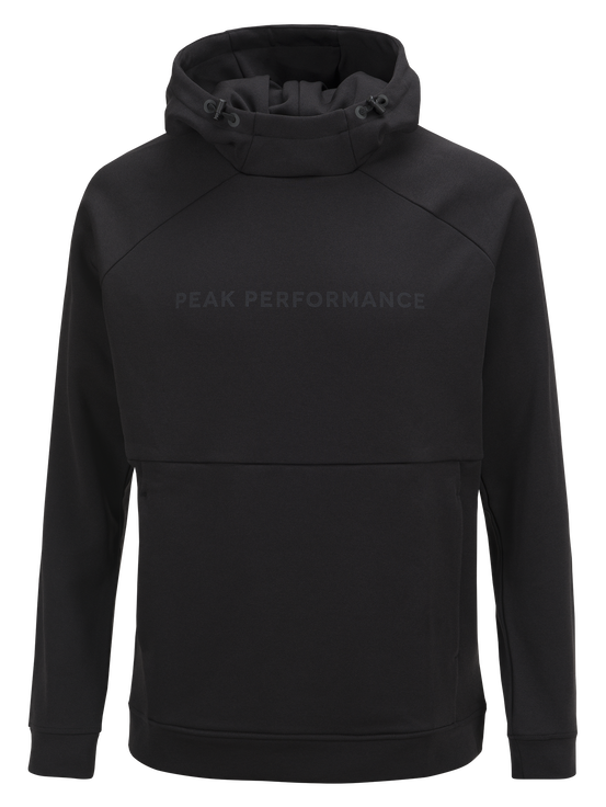 Men's Pulse Hooded Mid-Layer Black | Peak Performance