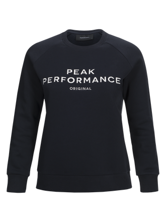 Women's Logo Crew neck Salute Blue | Peak Performance