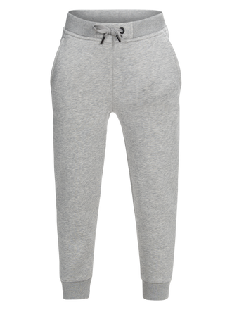Pantalon en sweat à logo enfant Med Grey Mel | Peak Performance