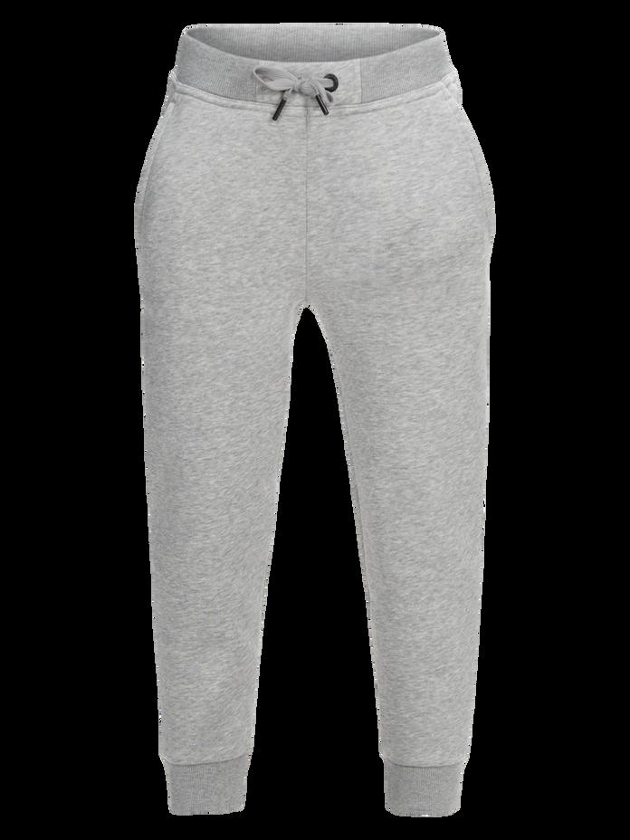 Kids Logo Sweat Pants Med Grey Mel | Peak Performance
