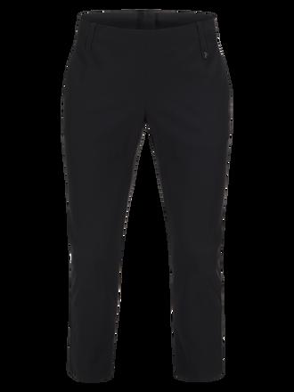 Damen Golf Swinley Kurz geschnittene Hose Black | Peak Performance